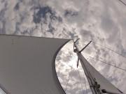 Segel Yacht Überführung