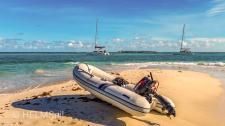 Karibik unter und über Wasser