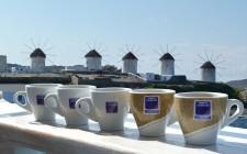 Griechischer Kaffee auf Mykonos