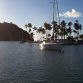 vor Anker in St. Lucia