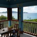 Mayreau, Karibik, Ausblick von der Bar